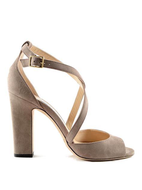 Tas Jimmy Choo Original suede sandal by jimmy choo sandals ikrix