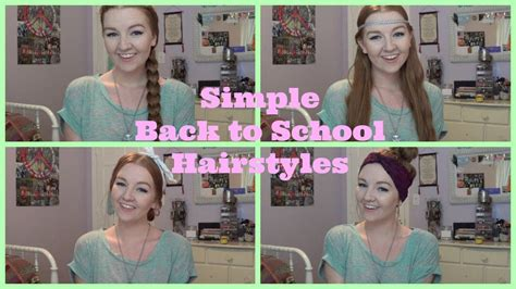 easy back to school hairstyles no heat 4 simple no heat back to school hairstyles meghan