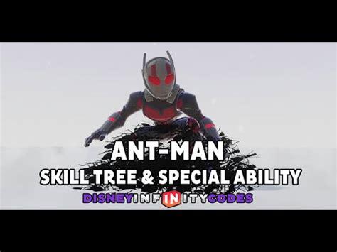 ant man skill tree special ability disney infinity