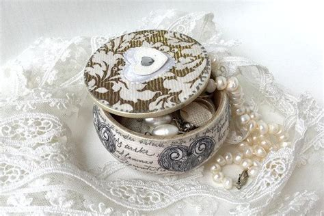 Wedding Jewellry Box by Wooden Jewelry Box Anniversary Gift Wedding Gift Wedding