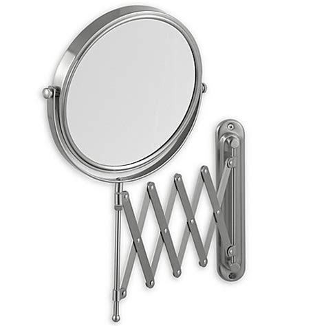 Jerdon 7x 1x Wall Mount 20 Inch Extension Mirror Bed Bathroom Extension Mirrors