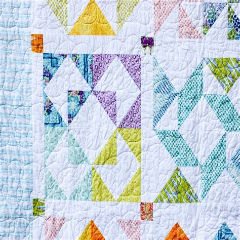 Half Triangle Quilt Patterns by Half Square Triangle Sler Quilt Pdf Pattern Jeni