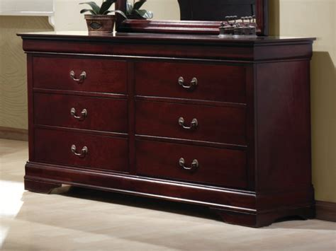 Dresser D by Louis Philippe Cherry Dresser