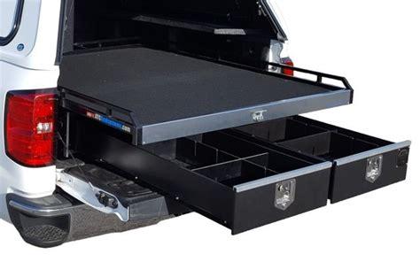 truck bed storage system stormaster storage system products upfitting work truck