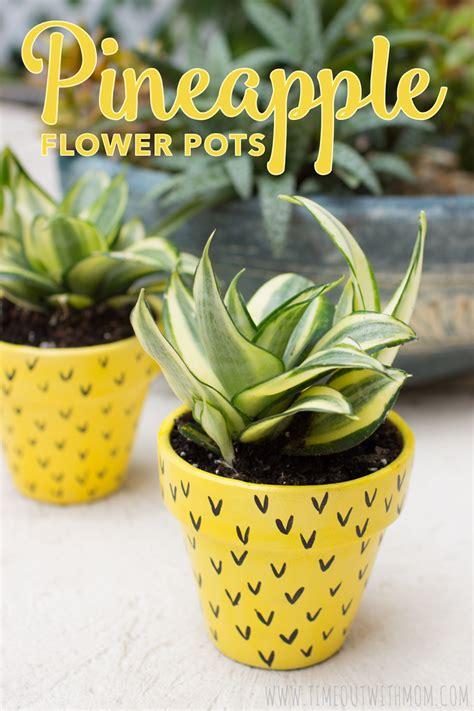 plant potters pineapple flower pots
