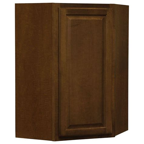 hton bay cognac cabinets 18x84x24 in pantry cabinet in cognac the home depot