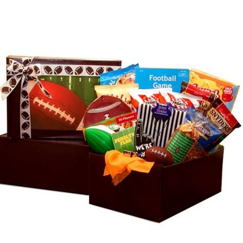 gifts for football fans football fan gift pack all about gifts baskets