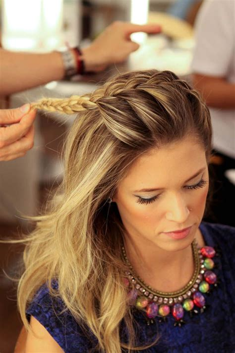 headband braid hairstyles dailymotion 163 best images about cortes de pelo y peinados on