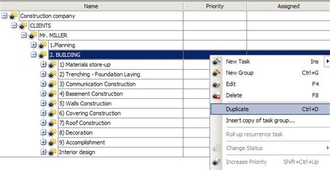construction workflow step 3 setting construction company workflow