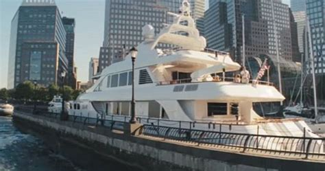 yacht film coco world class 145 foot yacht used for wolf of wall street