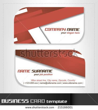 rounded business cards template vector material 10