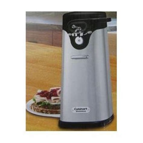 Kitchen Gourmet Electric Can Opener Galleon Cuisinart Deluxe Stainless Steel Electric Can Opener