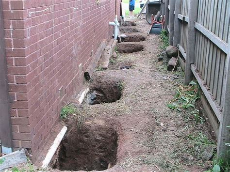 how to re house a house underpinning in melbourne spot on reblocking