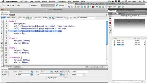 html5 extension in dreamweaver cs5 tutorial site com dreamweaver cs5 5 html5 e css3 aula iii youtube