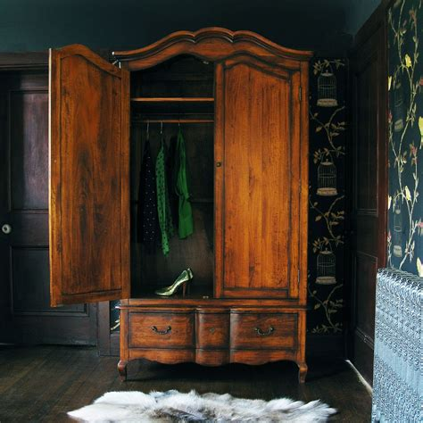 wooden closets with doors top 10 ways to decorate your home in vintage style living small wooden wardrobe closet