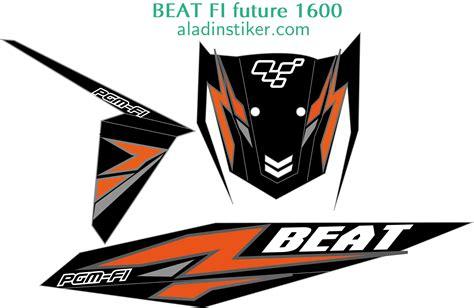 Sticker Stiker Motor Honda Beat Fi Repsol Marquez Spec B 1 koleksi modif honda beat fi repsol terupdate botol modifikasi