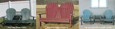 Elm Hill Farm In Colchester Vermont Carries Poly Furniture