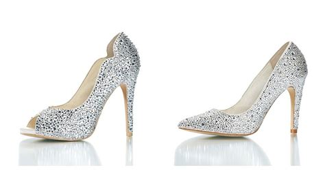 Sparkly Bridal Shoes by Sparkly Cinderella Wedding Shoes