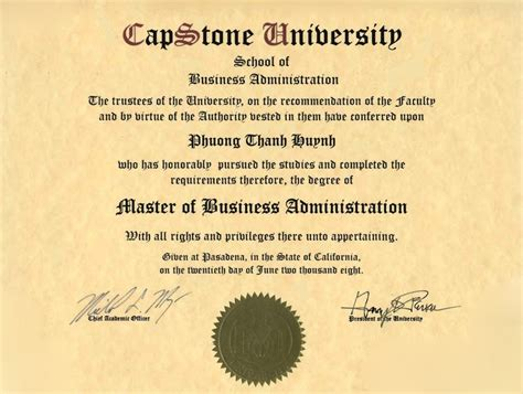 Mba Knowledge Without The Degree by Master Of Business Masters Degree In Business