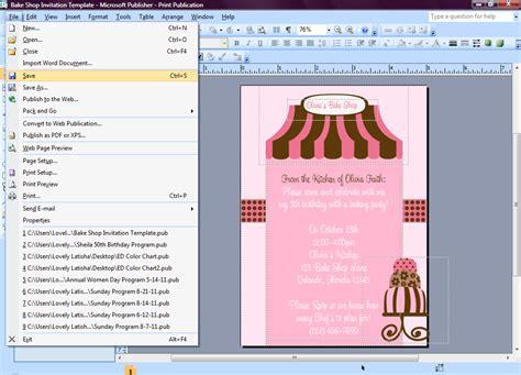 invitation design tutorial eccentric designs by latisha horton how to make