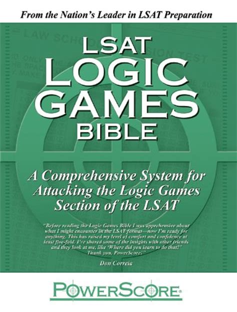 the powerscore lsat logical reasoning bible books the powerscore lsat logic bible pdf ebooks