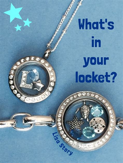 Mini Locket Origami Owl - origami owl mini locket and link locket bracelet lisastory