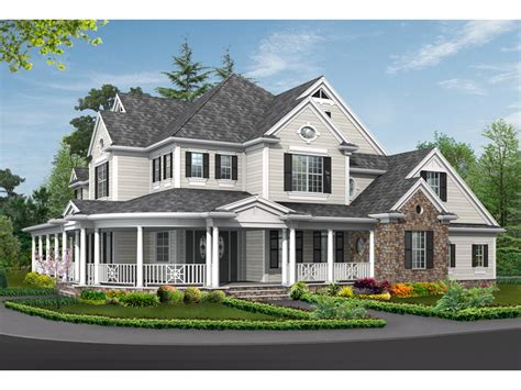 country homes designs simone terrace country home plan 071s 0032 house plans