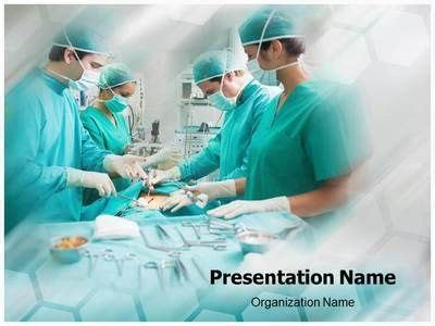 templates powerpoint surgery surgical procedure ppt template for medical