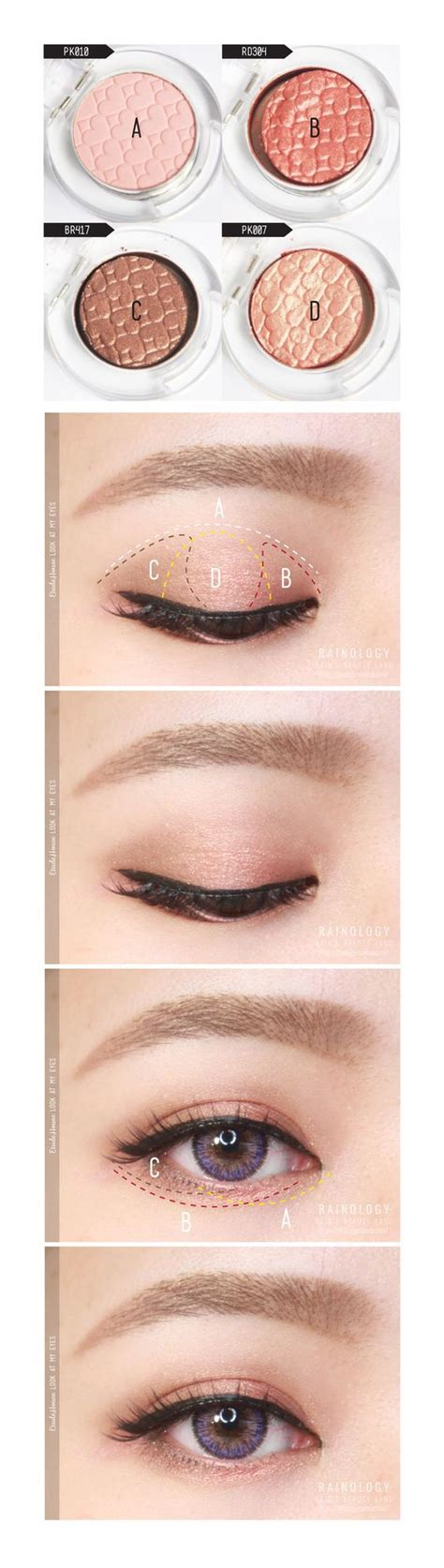 Hdtv Applied To Make Up by 25 Best Ideas About How To Apply Eyeshadow On