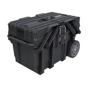 home depot tool boxes on wheels husky 25 in cantilever mobile tool box 230380 the