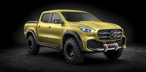 mercedes x class ute to be a key option for