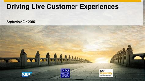 Https Www Slideshare Net Fmisbell Sap Mba Impact Overview 2016 by Sap Fuqua Tech Symposium 2016 Keynote Driving Live