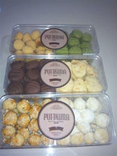 Jual Kue Lebaran Per Kg by Pufikima Cookies Kue Kering Per Parcel