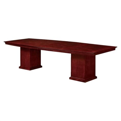 Cherry Conference Table Dmi Mar 10 Boat Shaped Conference Table Cherry Tables In Ebay