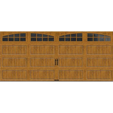 Clopay Gallery Collection 16 Ft X 7 Ft 18 4 R Value 7 Ft Garage Door