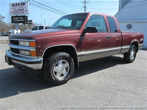 short bed silverado 1998 chevrolet silverado 1500 lt 4x4 extended cab short bed