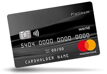 besondere kreditkarten world mastercard platinum beantragen mymastercard