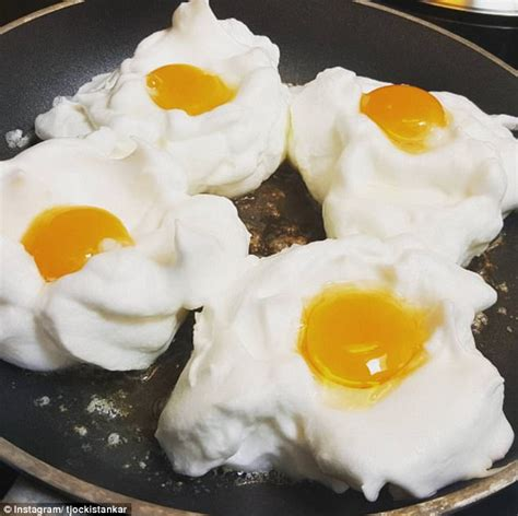 cloud eggs brunch item cloud eggs sweeps instagram as new trend