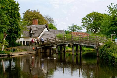 Flatford Bridge Cottage by Panoramio Photo Of Constable Country Bridge Cottage