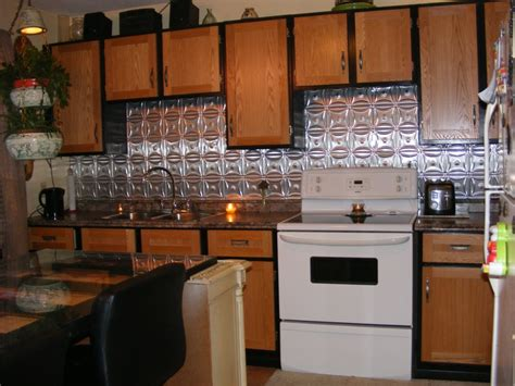 aluminum kitchen backsplash metal backsplashes for kitchens metal backsplashes hgtv