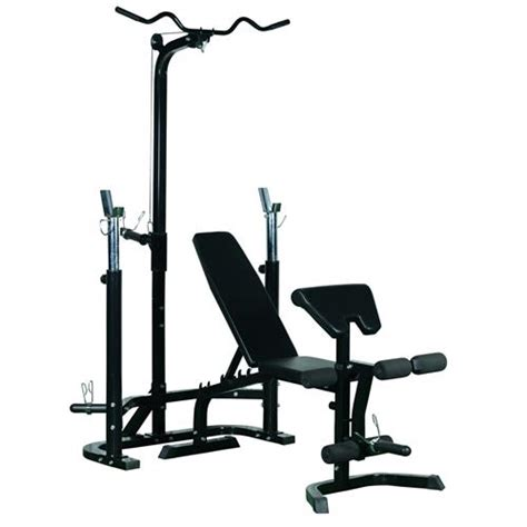 soozier weight bench home system lifting barbell stand