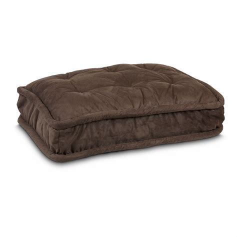 dog bed with pillow replacement cover pillow top dog bed 40 dog beds carriers