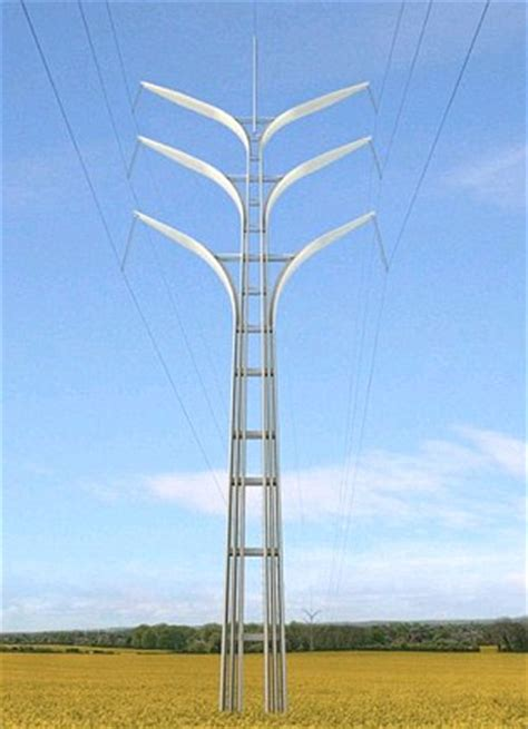 new electricity pylons will be t shaped | daily mail online