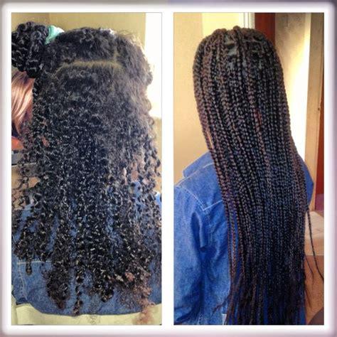 hair after braids box braids before and after box boho braids pinterest
