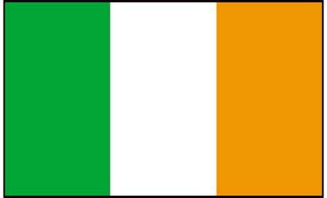ireland colors ireland 2016 delivery of national flag to primary and