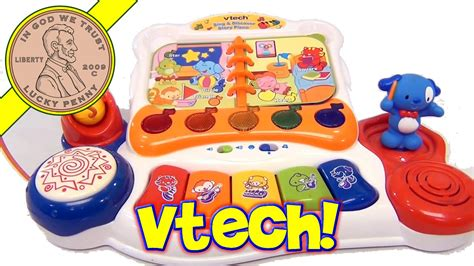 Vtech Sing And Discover Piano 6m Mainan Vtech T3010 2 vtech sing and discover story musical piano drums and microphone
