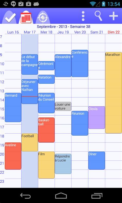 Calendrier Virtuel Gratuit Calendrier T 226 Ches Organiseur Applications Android Sur