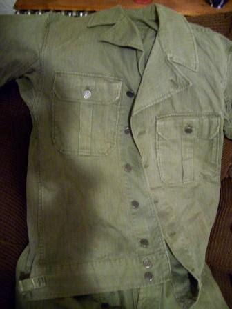 1st pattern hbt shirt usa first pattern herring bone twill combat uniform