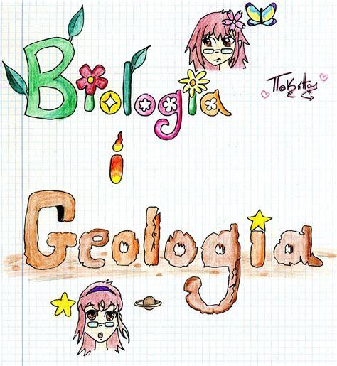 biologa y geologa libreta de biologia y geologia by tokitacullen on