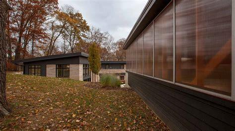 vintage modern garage haus architecture  modern